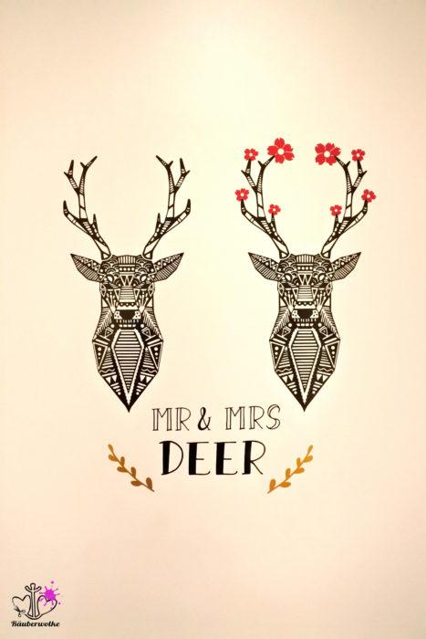 Oh deer - Paul & Clara // Raeuberwolke.ch