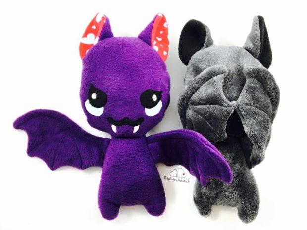 Bat Plush // Fledermaus -Kuscheltier // Raeuberwolke.ch