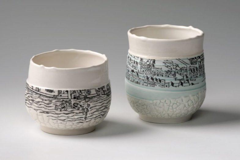 Mud Larking Tea Bowls