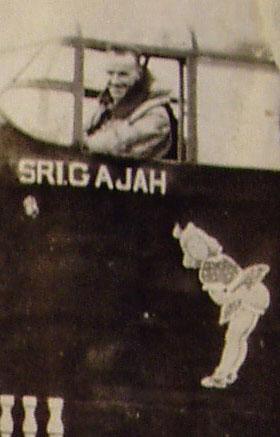 Bob Fletcher, the pilot