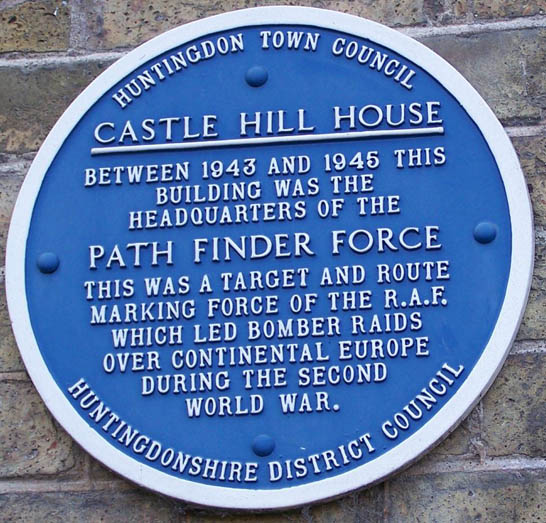 PFS Plaque - Castle Hill House