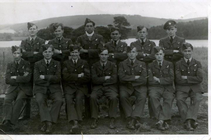 Brown, Kenneth, Lionel Boyton, air gunnery course