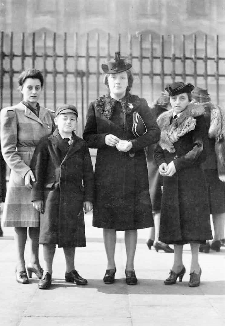 Bill's family at Buckingham Palace