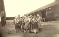Montgomery Crew at Woodhall Spa, 13 April 1943, prior to La Spezia operation