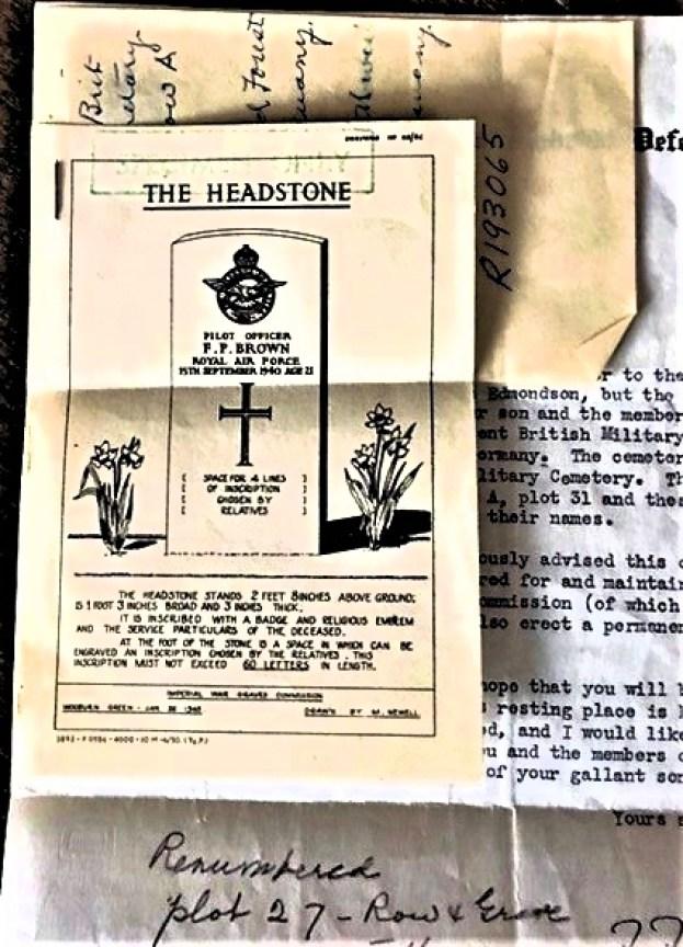 Edmondson grave headstone details (2)