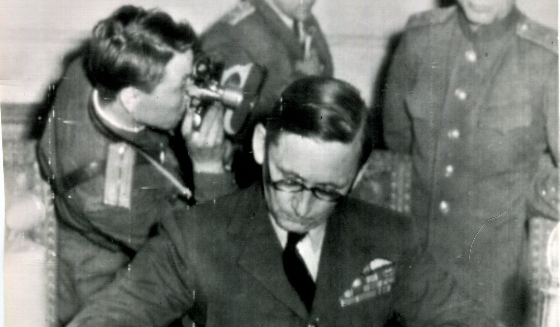 The RAF's Sir Arthur Tedder and the German Surrender