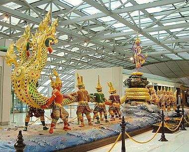 Cómo sobrevivir al Aeropuerto de Bangkok (2/4)