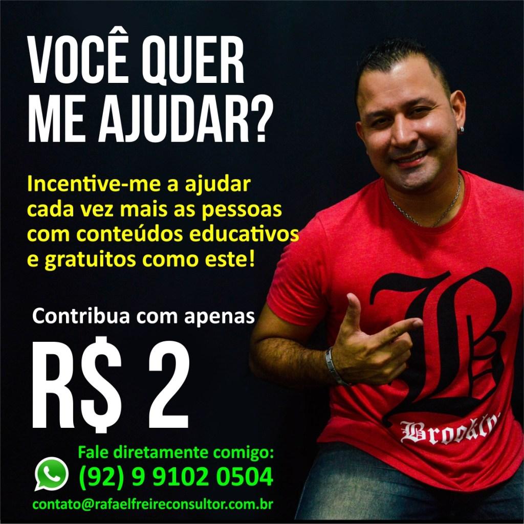 Contribua com Rafael Freire