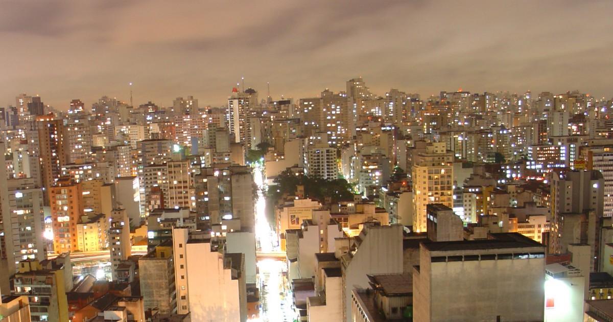 Vista dos prédios de São Paulo