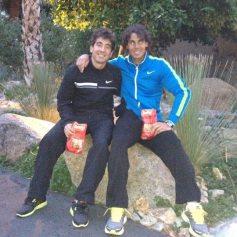 Rafa and Marc Lopez - Rafael Nadal Fans (12)