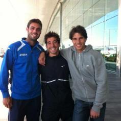 Rafa and Marc Lopez - Rafael Nadal Fans (8)