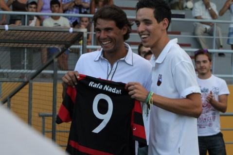 Rafael Nadal Attends Inter Manacor Football Match (2)