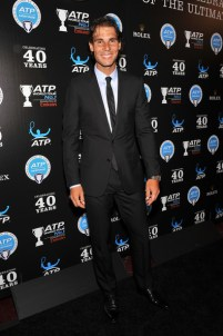 Professional tennis player Rafael Nadal attends the ATP Heritage Celebration at The Waldorf=Astoria on August 23, 2013 in New York City. // D Dipasupil/Getty Images North America