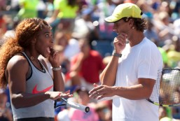 Rafael Nadal - Kids Day 2013 - New York (1)