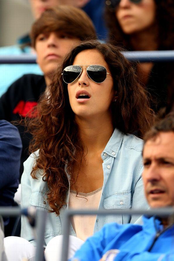 US Open 2013, SF: Rafael Nadal's Girlfriend Maria ...