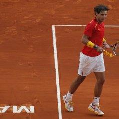 Rafael Nadal and Marc Lopez - Davis Cup - Spain Ukraine (14)