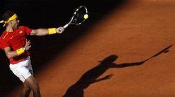 Rafael Nadal beats Sergiy Stakhovsky 60 60 64 Davis Cup (11)