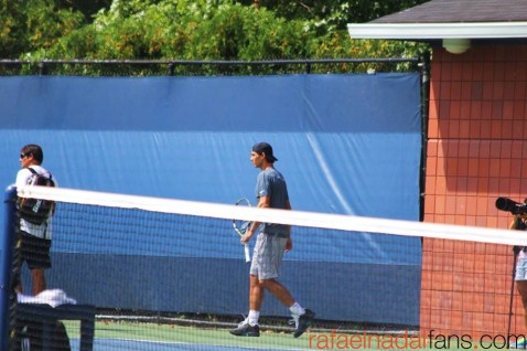 Rafael Nadal practices with Uncle Toni in New York (6)