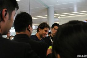 And always happy to see fans!