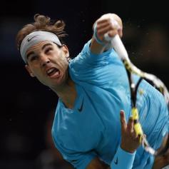 Rafa Nadal - Paris Masters R2 2013 (1)