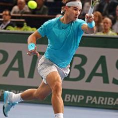 Rafael Nadal vs Granollers - Paris 2013 (4)
