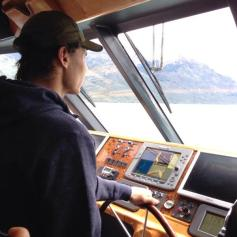 Nadal Djokovic on a boat in Argentina 2013 (1)