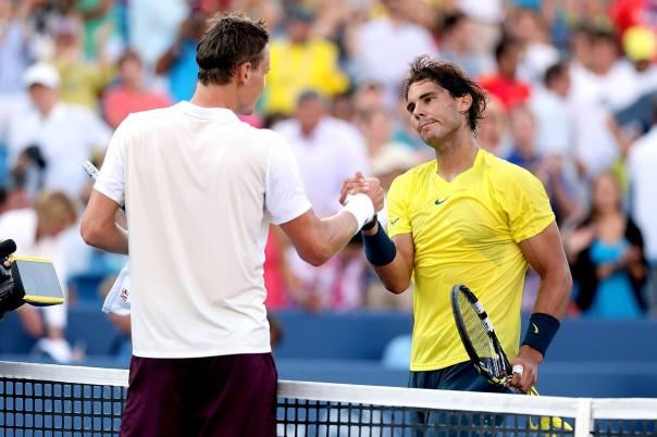 Nadal v Berdych ATP World Toud Finals London