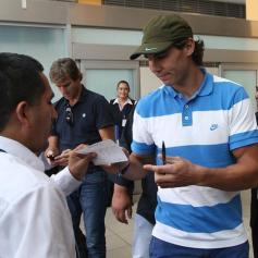 Rafael Nadal in Lima Peru 2013 (10)