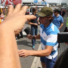 Rafael Nadal in Lima Peru 2013 (14)