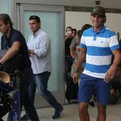 Rafael Nadal in Lima Peru 2013 (4)