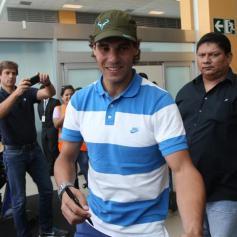 Rafael Nadal in Lima Peru 2013 (7)