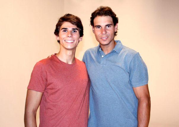 Photo: Rafa Nadal's facebook