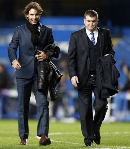 Rafael Nadal Stamford Bridge Chelsea Schalke 04 (1)
