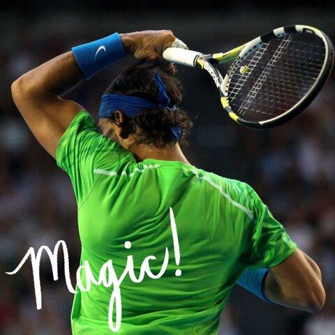 Photo via Australian Open's Twitter