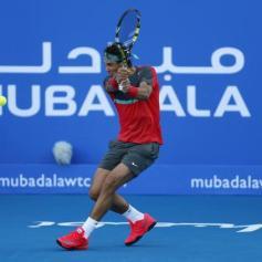 Rafael Nadal Abu Dhabi 2013 (12)