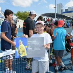 Rafael Nadal At Kids Clinic In Abu Dhabi (3)