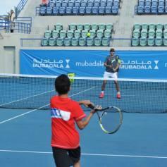 Rafael Nadal At Kids Clinic In Abu Dhabi (5)