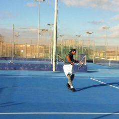 Rafael Nadal practices for new season in Mallorca (2)