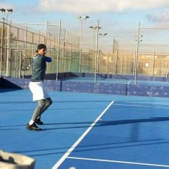 Rafael Nadal practices for new season in Mallorca (9)