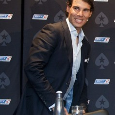 Rafael Nadal Ronaldo play poker Prague 2013 (14)