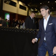 Rafael Nadal Ronaldo play poker Prague 2013 (3)