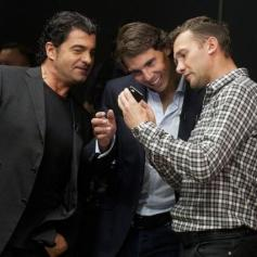 Rafael Nadal Ronaldo Shevchenko Tomba play poker Prague 2013 (16)