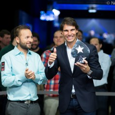 Rafael Nadal wins poker tournament Prague 2013