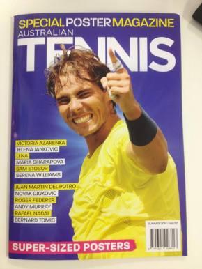 Australian Tennis Magazine - Rafael Nadal Fans