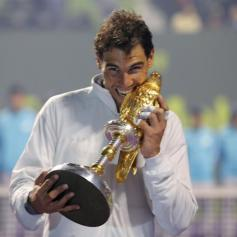 Rafa vs Gael Monfils Doha Final Reuters Ahmed Jadallah 1