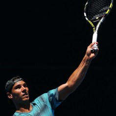 Rafael Nadal practising Australian Open 2014 (10)
