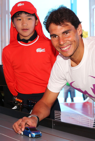 Rafael+Nadal+2014+Australian+Open+Kia+Handover3