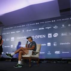 Rafael Nadal press conference in Brazil 12