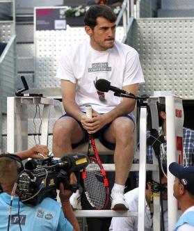 Iker Casillas Charity Day at the Mutua Madrid Open