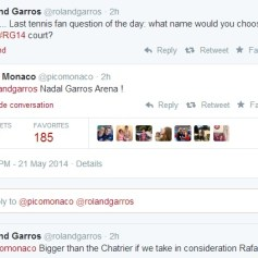 Juan Monaco Nadal Garros Arena